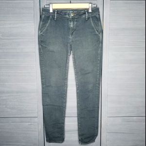 Earnest Sewn Green Gray VTG Style Ankle Jeans
